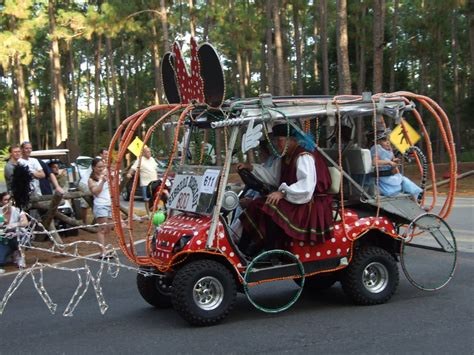 golf cart decorating themes passport to cing weekend trip report