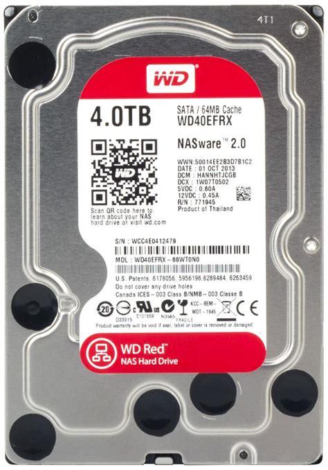 Wdc 4tb 3 5 Quot wd40efrx 68wt0n0 western digital drive