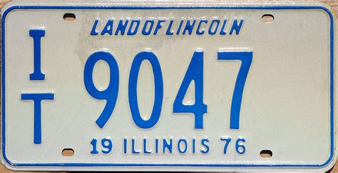 Vanity Plates In Illinois by Trailer License Plate Illinois Image Mag
