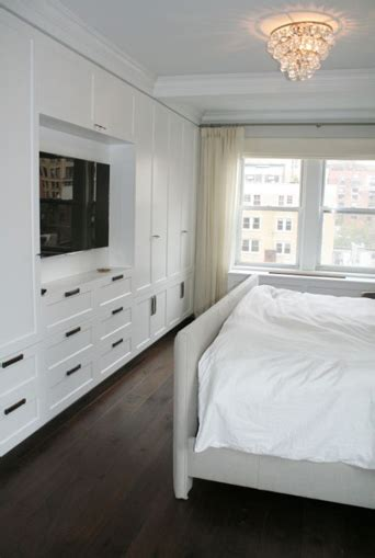 built ins for small bedrooms tv built ins transitional bedroom curated