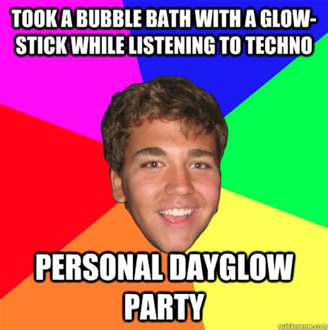 Glow In The Dark Condom Meme - glow stick bubbles memes