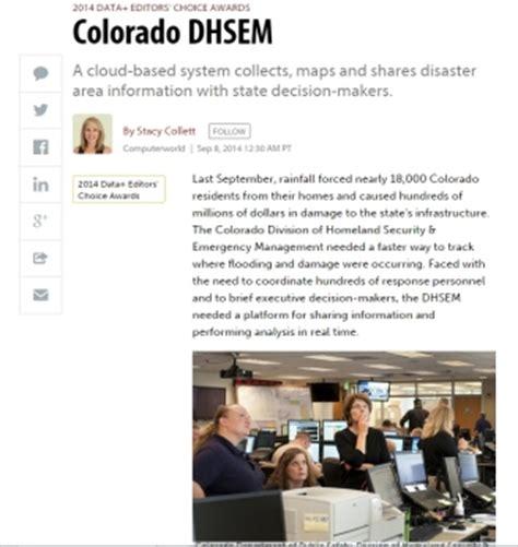 coverage   case  colorado dhsem  computerworld