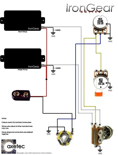 electric guitar wiring diagram blurts