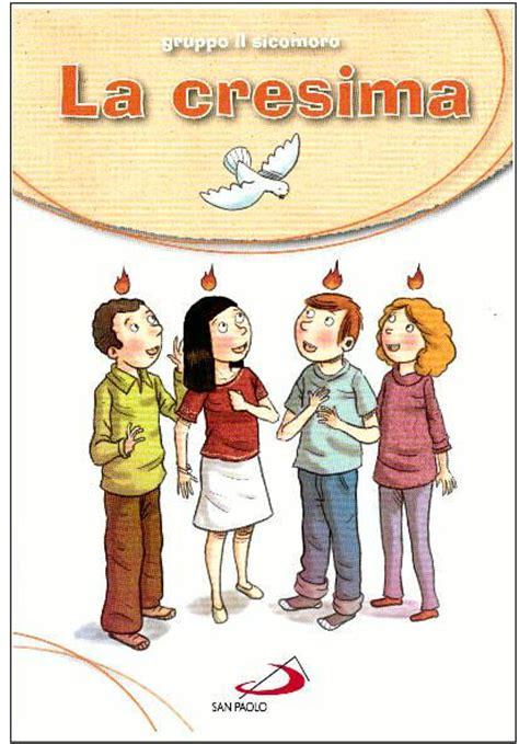 libreria sicomoro la cresima gruppo il sicomoro libro itacalibri