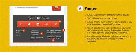 layout footer newsletter how to make the perfect email newsletter people love