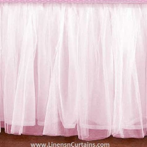 light pink crib skirt 33 best tulle ruffle crib skirt images on pinterest