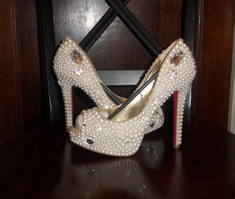 Wedding Shoes With Pearls And Crystals by Pearl Wedding Shoes On Luulla