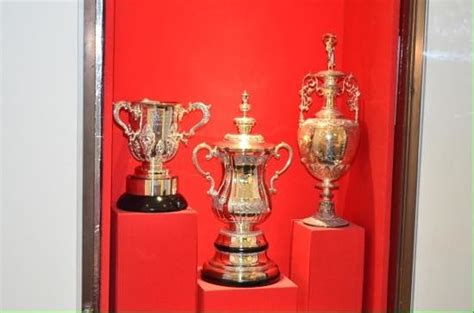 arsenal trophy trophy cabinet picture of the arsenal football club
