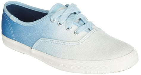 ombre sneakers keds womens ombre glitter sneakers ebay