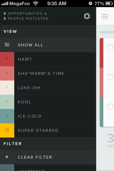 ui state pattern 228 best mobile ui settings images on pinterest