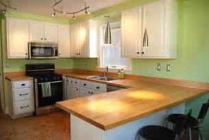 Kitchen Bar Top Ideas Wood Kitchen Countertops Kitchen Ideas