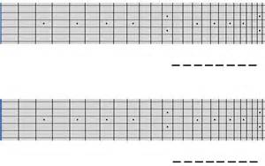 Printable Guitar Fretboard Template by Blank Guitar Fretboard Note Chart Pictures To Pin On