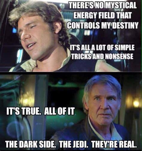 Solo Memes - han solo force awakens memes