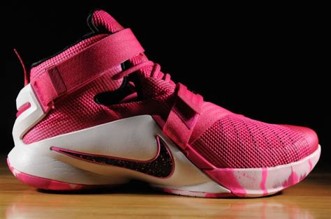 look at lebron soldier ix quot yow quot quot think pink