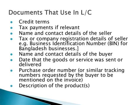 Bangladesh Letter Of Credit maintaining letter of credit for bangladeshi applicants