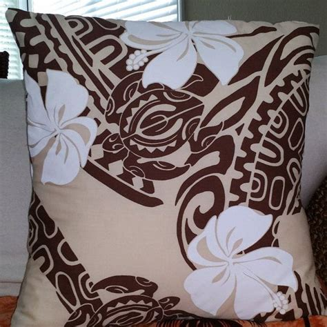 polynesian home decor hawaiian print envelop style pillowcase by hawaiilifehome