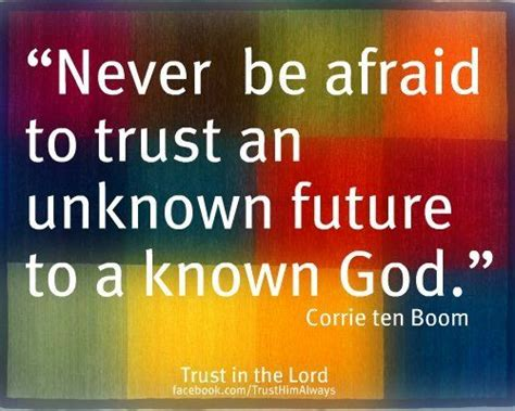 this i trusting your unknown future to a known god books never be afraid to trust an unknown future to a kn by