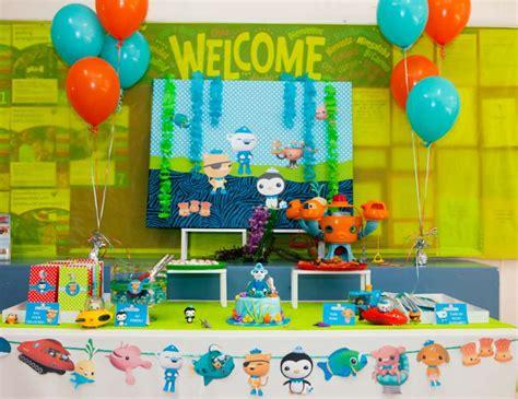 Octonauts Decorations by Octonauts Birthday Quot Deus Octonauts Themed 4th Birthday