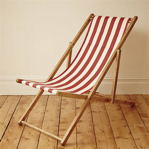 Deck Chair by Stripy Vintage Deck Chair By Deja Ooh Notonthehighstreet