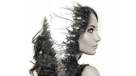 double exposure hair tutorial double exposure effect photoshop tutorial youtube