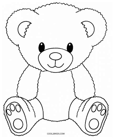 online coloring page bear get this teddy bear coloring pages free 716bd