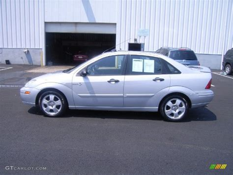 2002 ford focus zts cd silver metallic 2002 ford focus zts sedan exterior