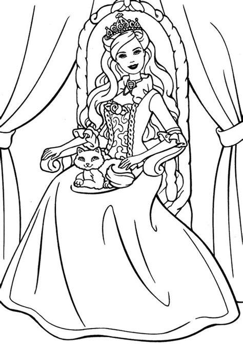 Coloriage de Princesse et prince, dessin Avec son petit