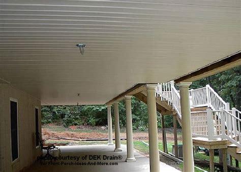 Deck Ceiling Ideas by Deck Waterproofing Deck Drainage Waterproof Deck