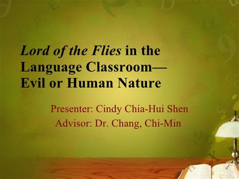 human nature themes in lord of the flies lord of the flies in the language classroom evil or human
