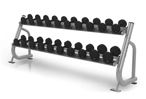 Rak Besi Rakitan two tier dumbbell rack plus toko alat fitness