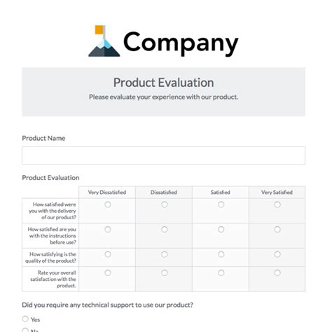 training survey template training evaluation form 15