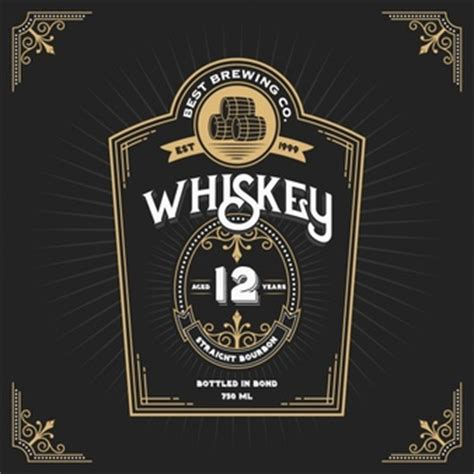 design whisky label whiskey vectors photos and psd files free download
