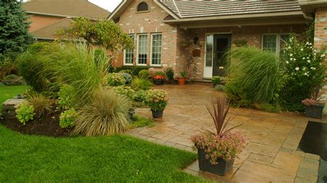 curb appeal landscaping company portfolio slideshow walkways path garden paths