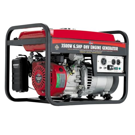 Small Generators Home Depot All Power 3 000 Watt Gasoline Powered Generator With