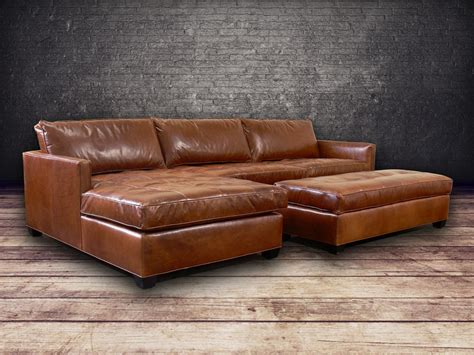 shop sectional sofas vintage leather sectional sofa above is a brown leather