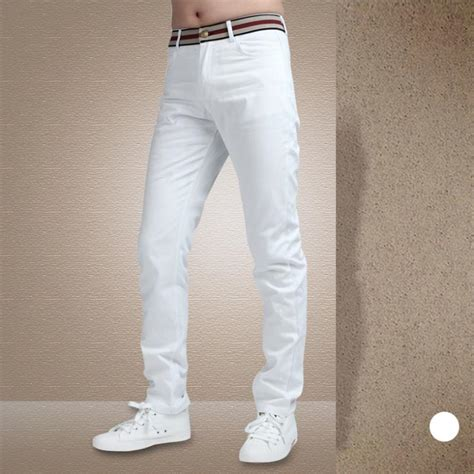 Cotton Pant mens white cotton pant olo