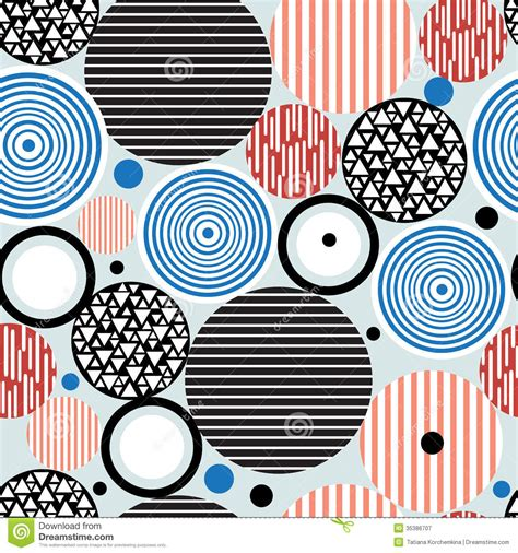 circle pattern graphic design abstract geometric pattern of circles royalty free stock