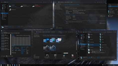 hacking themes for windows 10 steamyblue windows10 theme by f3nix69 on deviantart