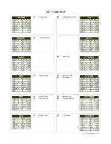 Free Yearly Calendar Template by 2017 Yearly Calendar Template Vertical 02 Free Printable