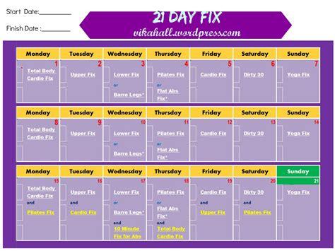 workout calendar 21 day fix workout calendar yearly printable calendar