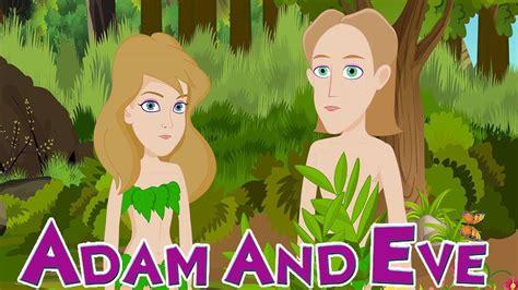 adam  eve   garden  eden animated short