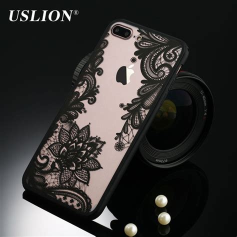 Inside Vintage Iphone 6 7 5s Samsung Oppo F1s Redmi S6 Vivo retro floral phone for apple iphone 7 6 6s 5 5s se plus lace flower pc tpu cases