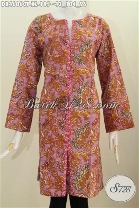 Dress Kancing Depan by Jual Pakaian Dress Kancing Depan Motif Terbaru
