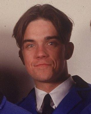 curtains hairstyle robbie williams rolls back the years as he revisits his