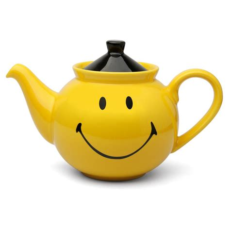 A Pot Of Tea smiley yellow teapot teapots teapot