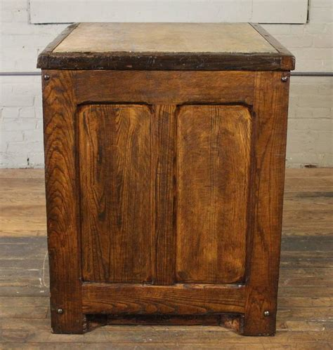 table with cubby holes industrial marble top wooden table counter storage parts
