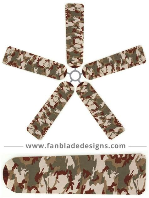 Camo Ceiling Fan Blades by The World S Catalog Of Ideas