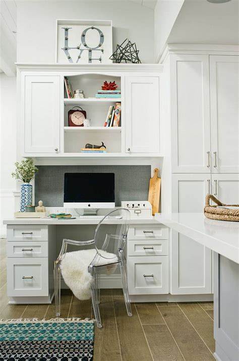 1000 ideas about kitchen office spaces on
