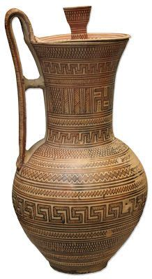 vaso attico vaso 225 tico c 740 a c mythology pottery