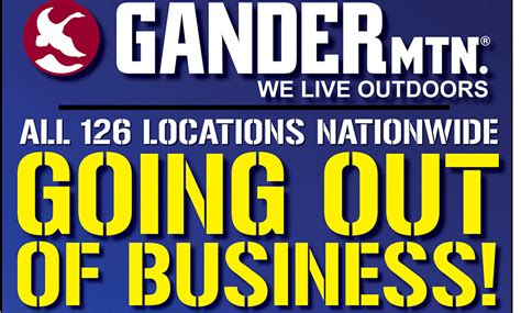 gander mountain begins liquidating all 126 store locations nationwide outdoorhub - Gander Mountain Gift Cards Where To Buy